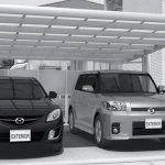 abri voiture aluminium guadeloupe protection solaire garage