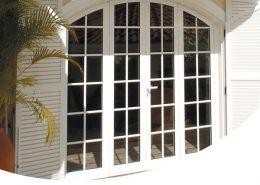 Portes vitrées