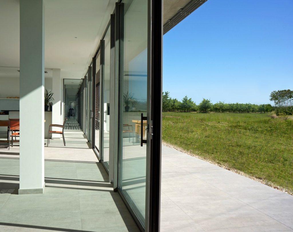 Vitrage baie vitrée