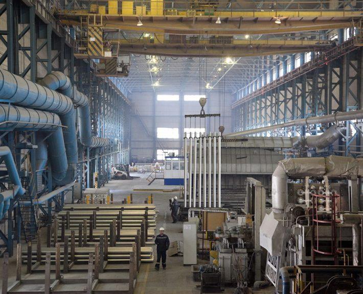Usine d'aluminium²