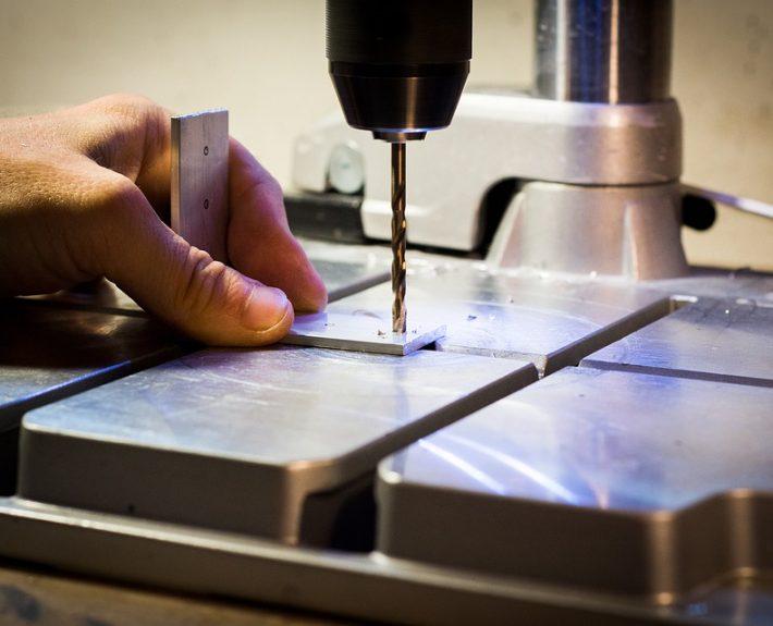 Perforation de l'aluminium