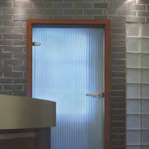 SGG MASTER -RAY® Souligne le raffinement par des traits de lumière.