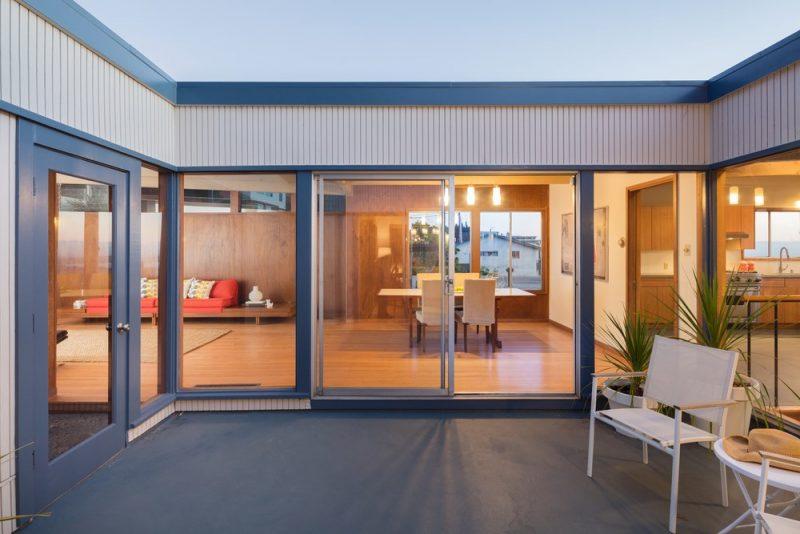 Inspiration : patio et baies-vitrées