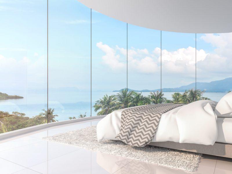 Le mur de verre : une fenêtre pas comme les autres