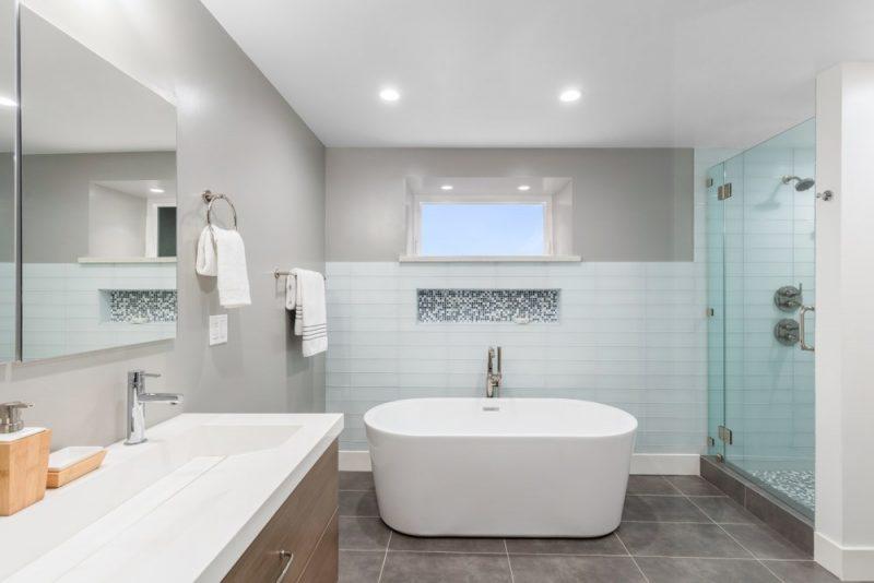 Vitres et salles de bains