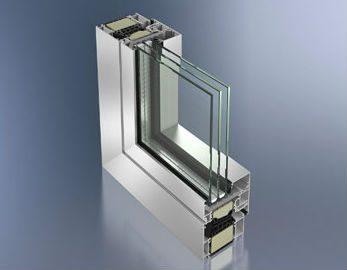 Composition fenêtre aluminium