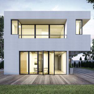 baie vitrée aluminium repliable menuiserie aluminium guadeloupe