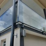 garde corps balustrade aluminium balcon terrasse verre verrerie protection securite