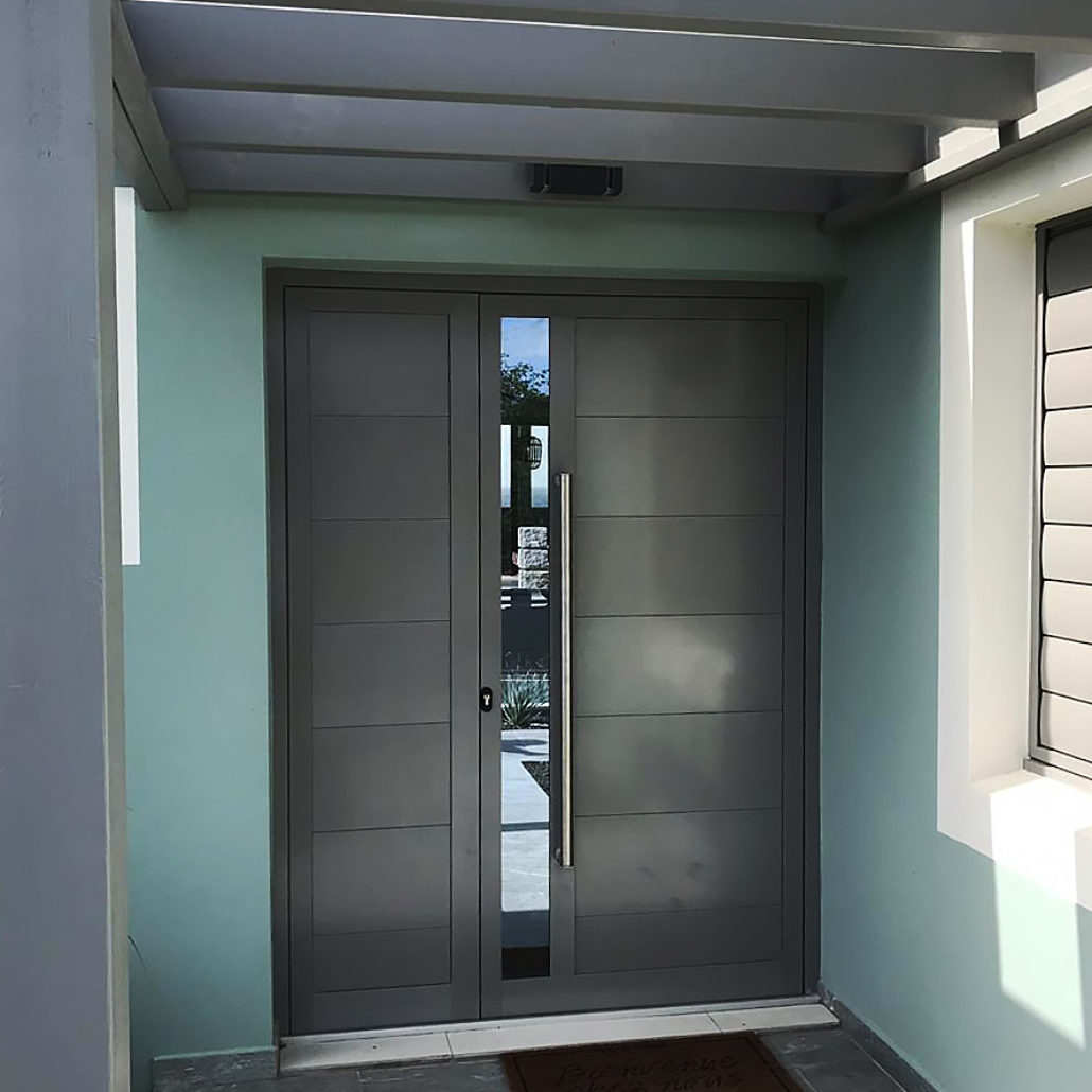 porte-entree-aluminium-technal-pv-anthracite-gris-vitre-verre